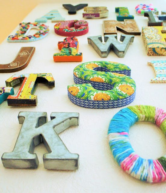DIY: Alphabet Wall