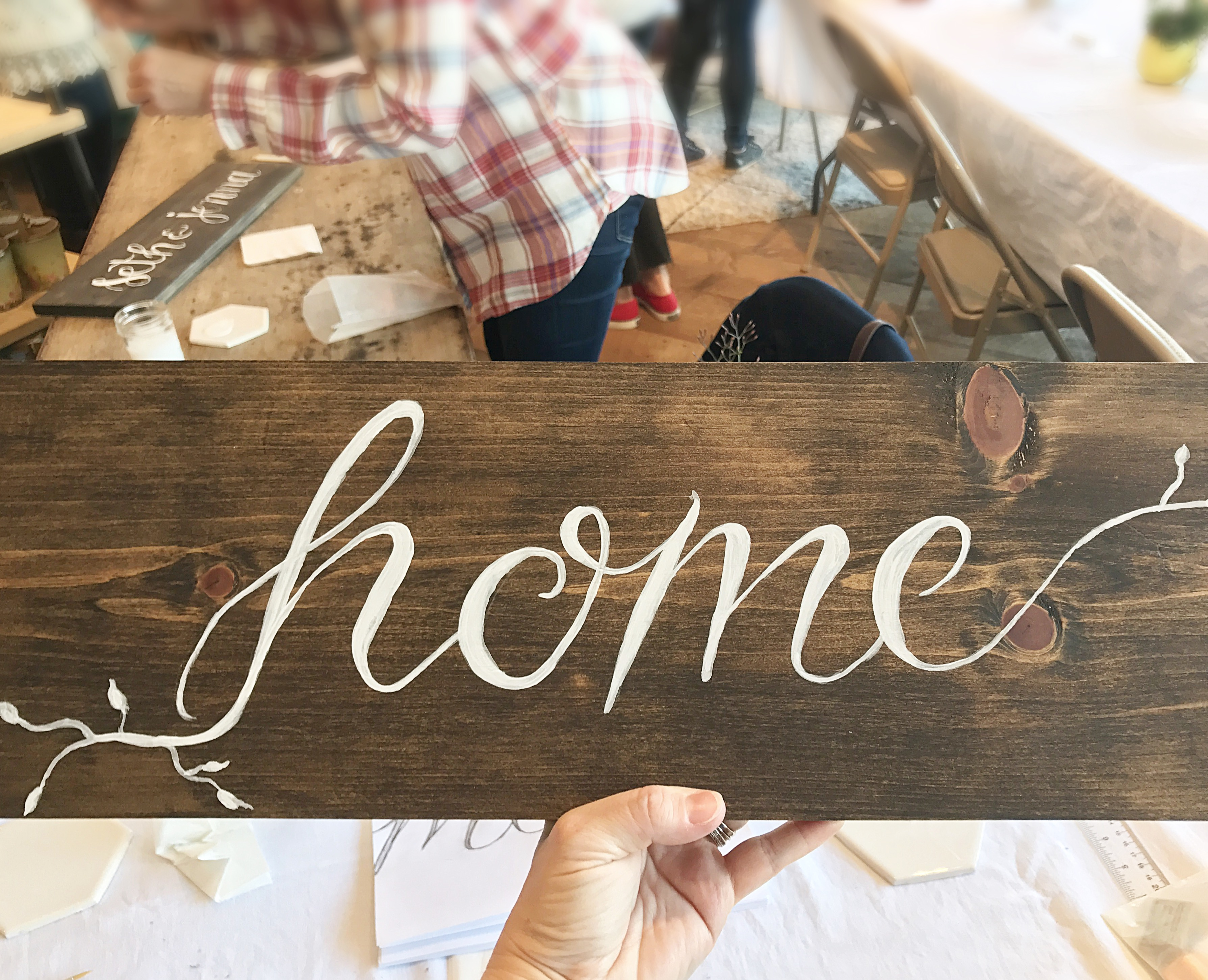 Sign Making with Anthropologie & Co